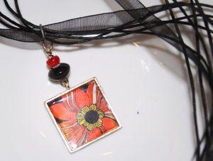 Flower necklacs